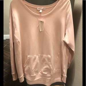 NWT! Philosophy Pullover with Thumbholes